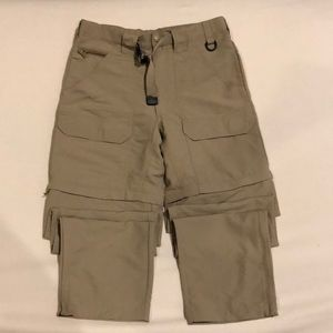 Cabelas tactical pants/shorts sz 34 like new cond.